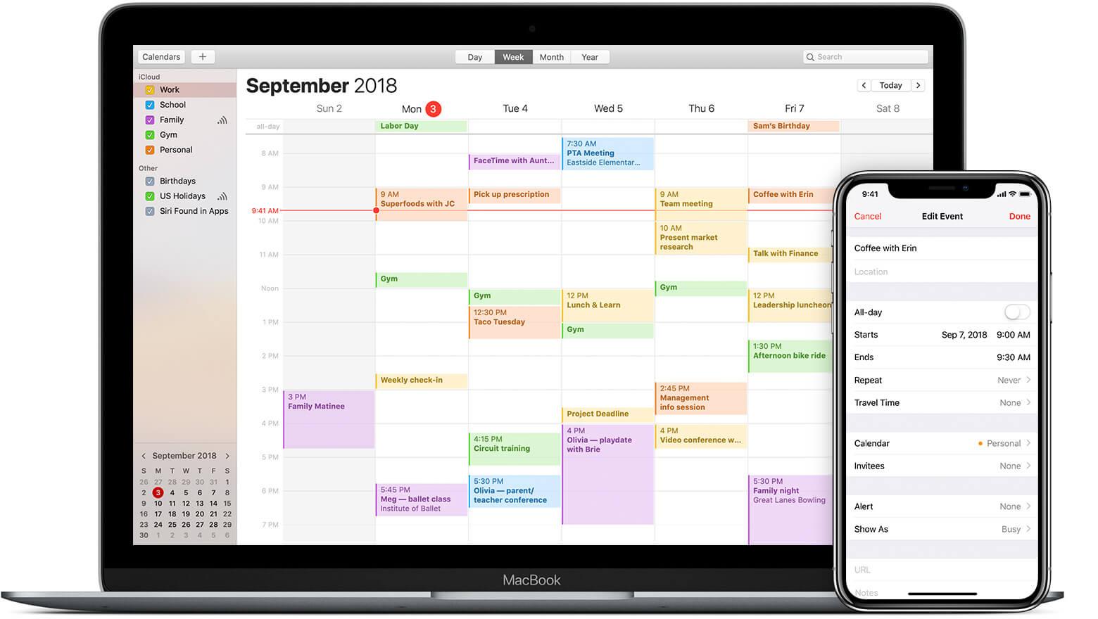 Cómo usar la función de Tiempo de viaje en el calendario - Hoy en Apple