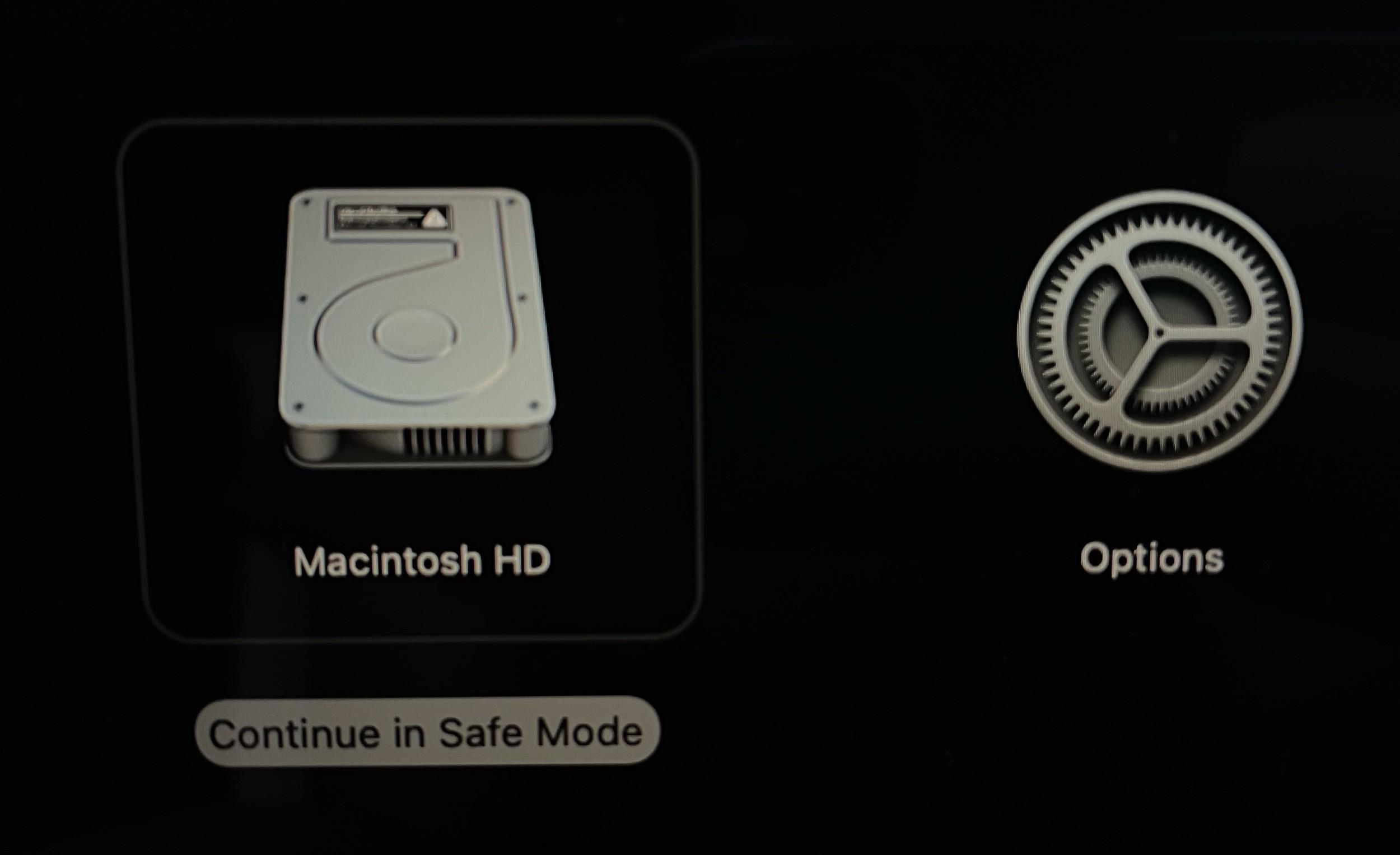Cómo arrancar nuestro Mac con Apple silicon en modo seguro