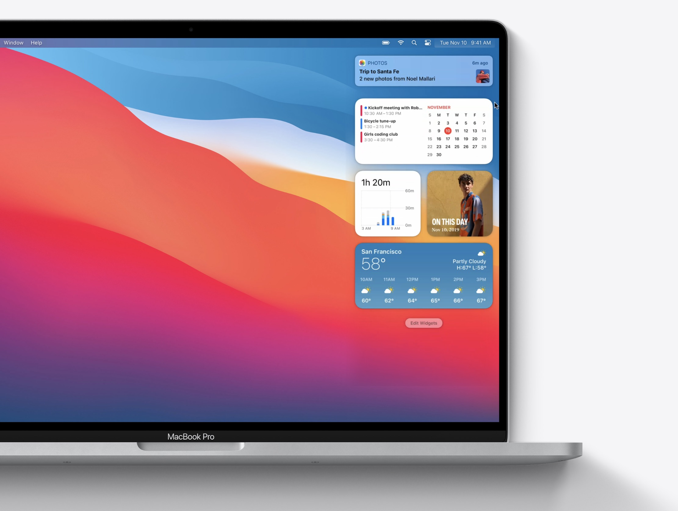 Cómo añadir, eliminar y configurar los widgets de macOS Big Sur en nuestro Mac